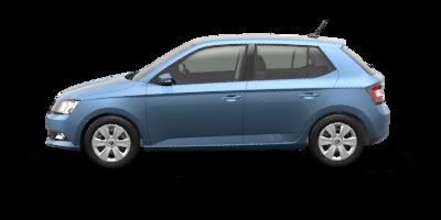 FABIA Trumf 1.0 TSI 70 kW - modrá Denim