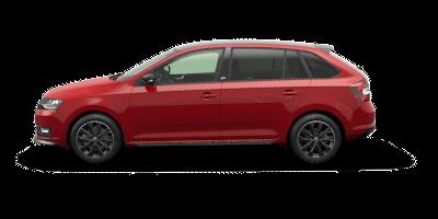 RAPID SPACEBACK Monte Carlo 81 kW - červená Corrida